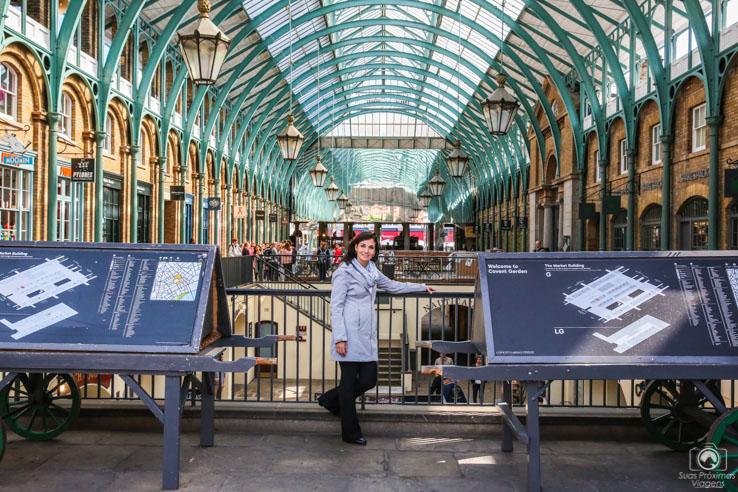 Entrada do Covent Garden nas melhores dicas de londres