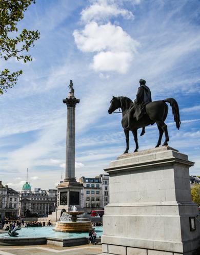 Trafalgar Square em O Que Fazer em Londres