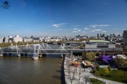 Vista desde a London Eye em O Que Fazer em Londres