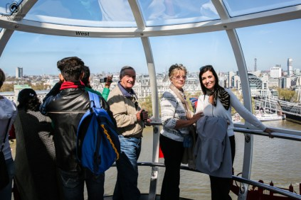 Gôndola da London Eye em O Que Fazer em Londres