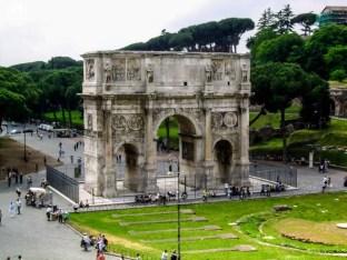 Arcos de Constantino em o que fazer em Roma 3