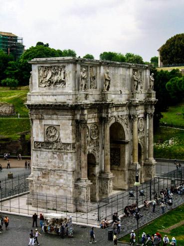 Arcos de Constantino em Melhores Dicas de Roma