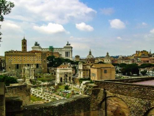 Ruínas de Roma em o que fazer em Roma 7