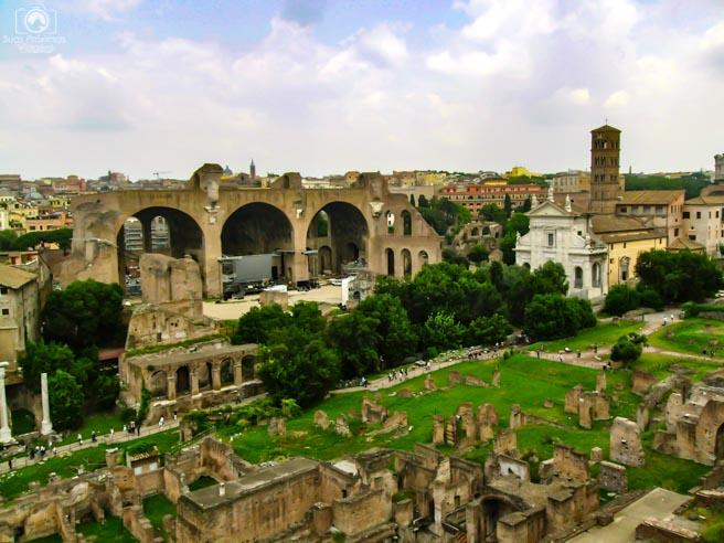 Ruínas de Roma em o que fazer em Roma 6
