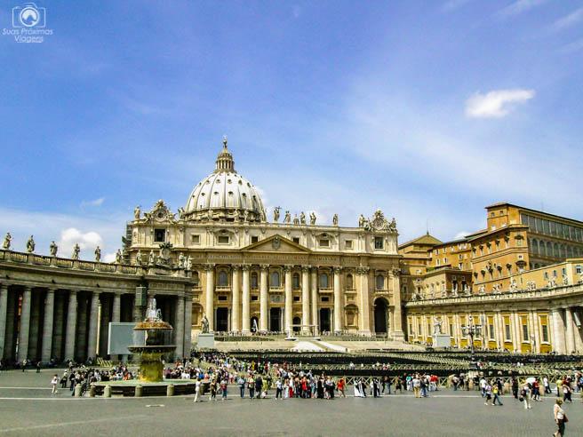 Basílica de São Pedro em o que fazer em Roma 2