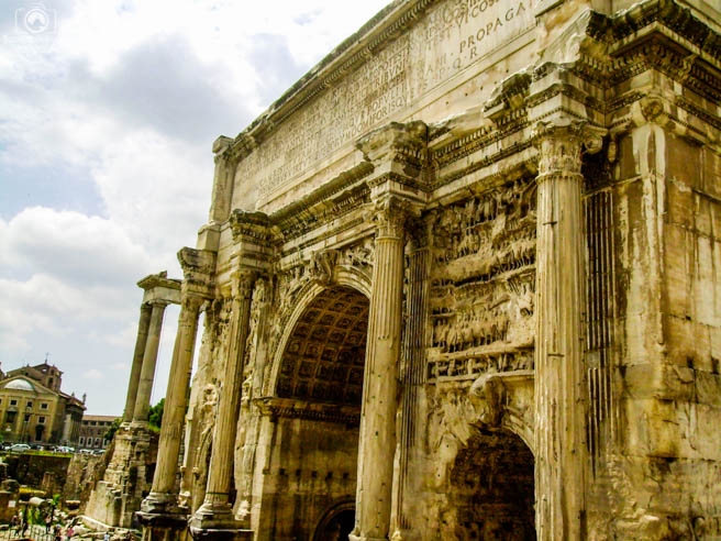 Ruínas de Roma em o que fazer em Roma 8