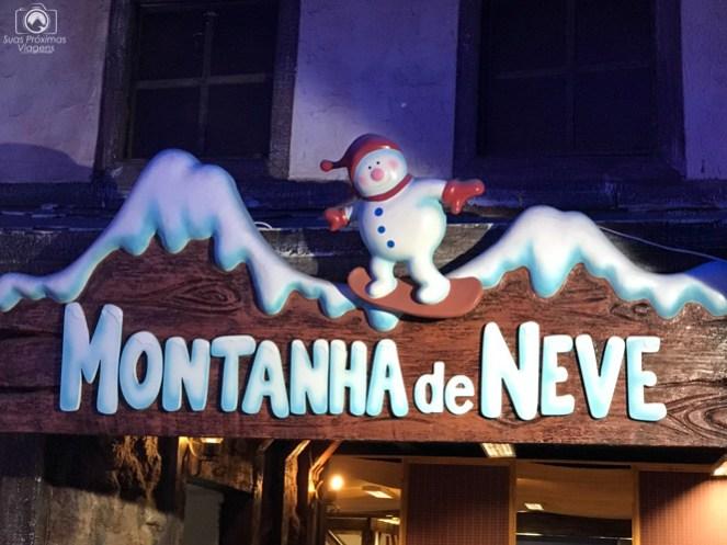 Atração Principal do Snowland nas Melhores Dicas de Gramado e Canela