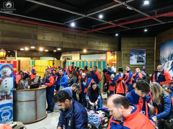 Desorganização Total no Snowland na Serra Gaúcha