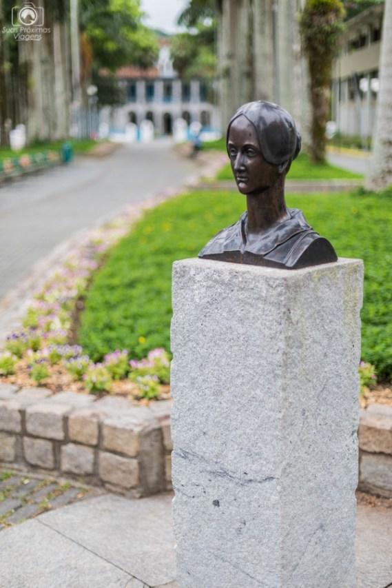 Busto da Dna Francisca em Joinville