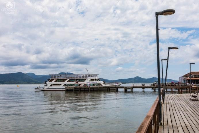 Barco Príncipe em São Francisco do Sul