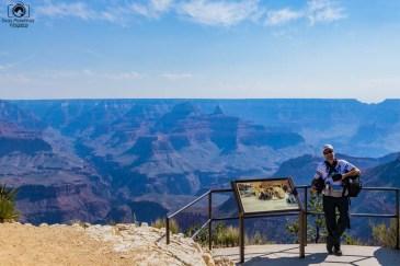 Vista do Mirante no Grand Canyon, um dos Parques Nacionais