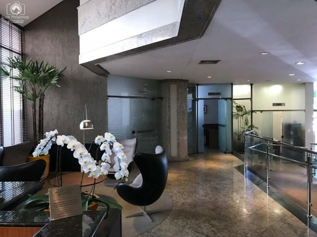 Entrada do Hotel Mercure em Joinville