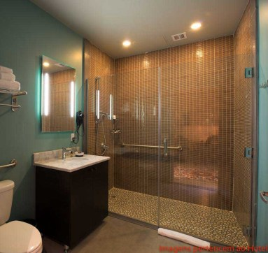 Banheiro do Quarto do Paper Factory Hotel em Onde Se Hospedar em Nova York
