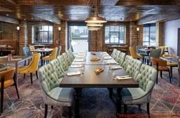 Restaurante no Doubletree em Onde Se hospedar em Londres