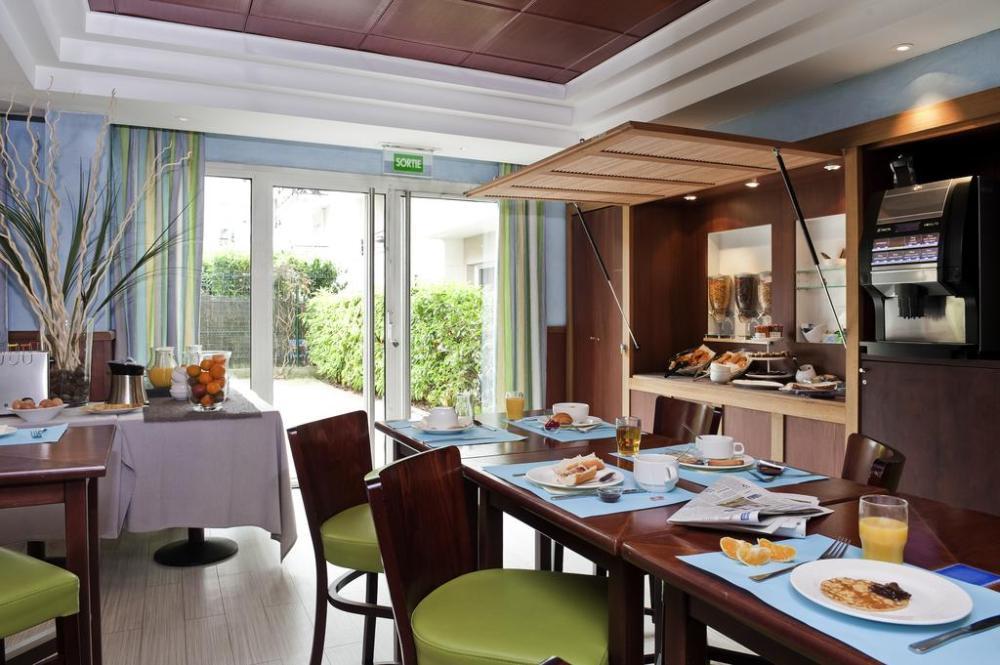 Restaurante do Adagio em pontos turísticos de Paris