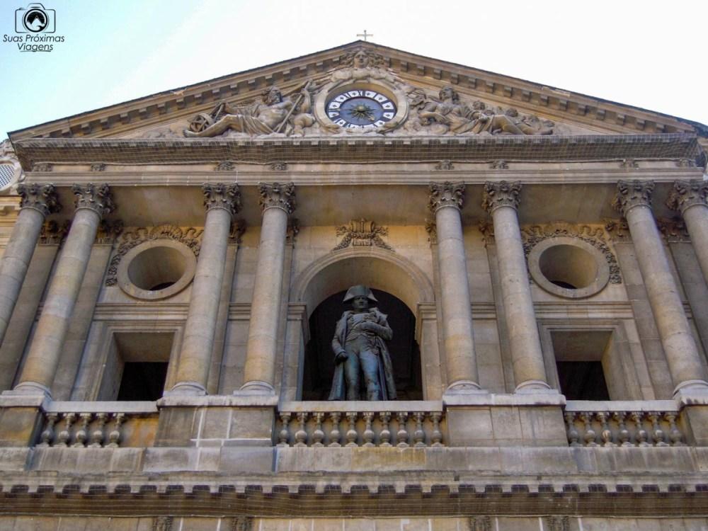 Estátua de Napoleão em O Que Fazer em Paris