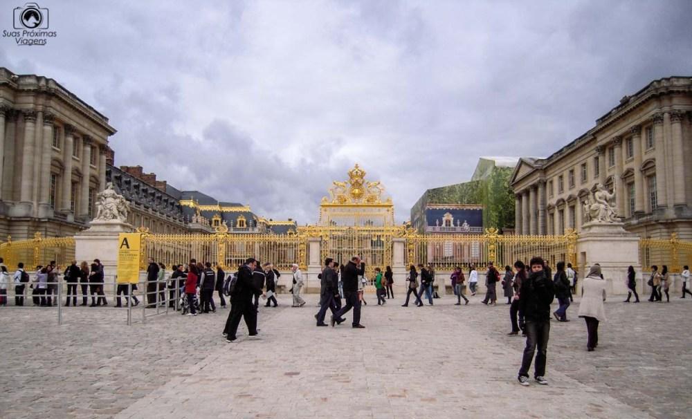 Portão de Entrada do Palácio de Versalhes