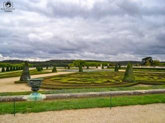Parte do Jardim do Palácio de Versalhes