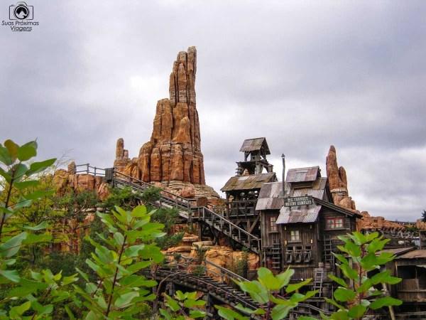 Montanha Russa na Disneyland Paris