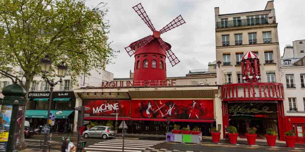 Moulin Rouge em Onde se Hospedar em Paris