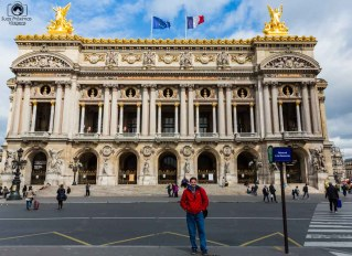 Ópera Garnier na viagem para Paris