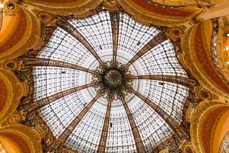 Galerie Lafayette Cúpula em Dicas de Paris