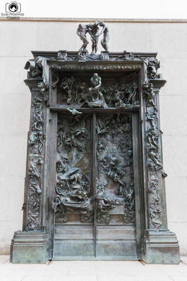 Portal do Inferno de Rodin em O Que Fazer em Paris