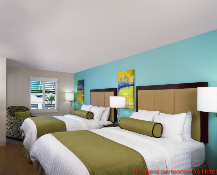 Quarto duplo Silver Palms Inn em Key West
