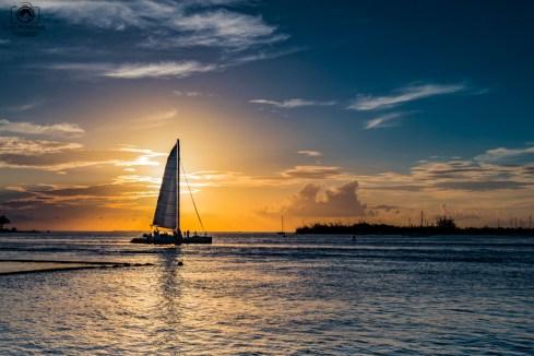 Pôr do Sol no Pier da Simonton St em Key West