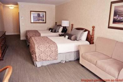 Quarto Cama dupla Cow Hollow Inn & Suites em onde ficar em San Francisco
