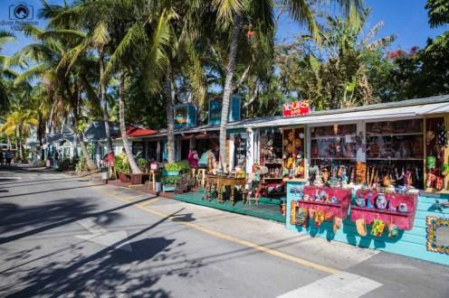 Lojas de Rua em Key West