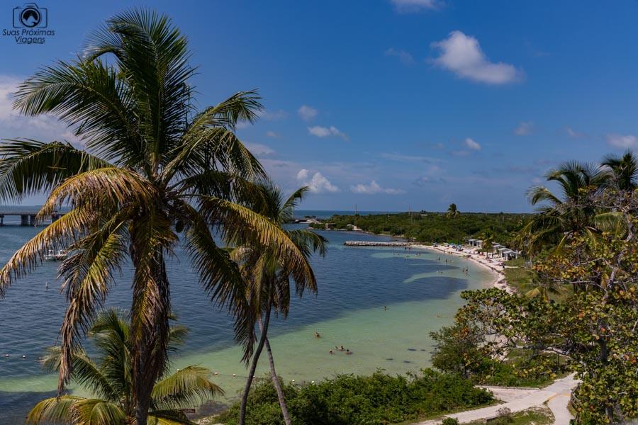 Bahia Honda State Park rumo a Key West