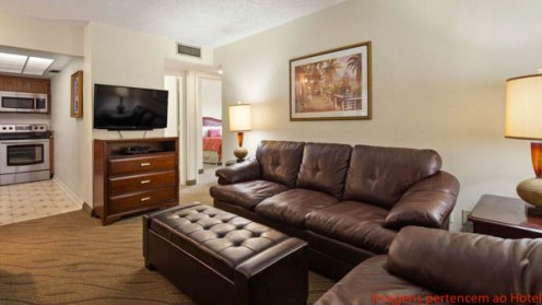 Suite no Best Western Suites em Naples