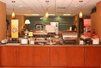 Café da Manhã do Hampton Inn em Naples