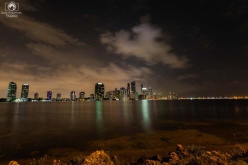 Costa de Miami a noite