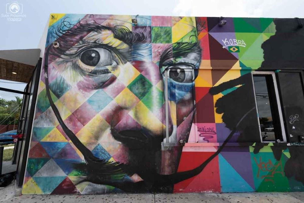 Painel de Brasileiros no Winwood Arts District