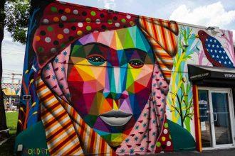 Painel no Wynwood Walls em O que visitar em Miami