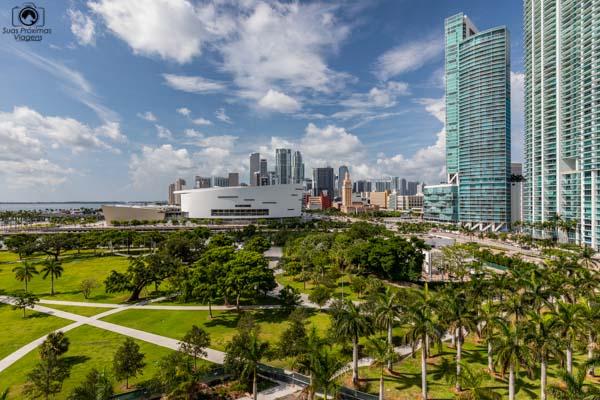 Imagem do Museum Park em Miami Florida