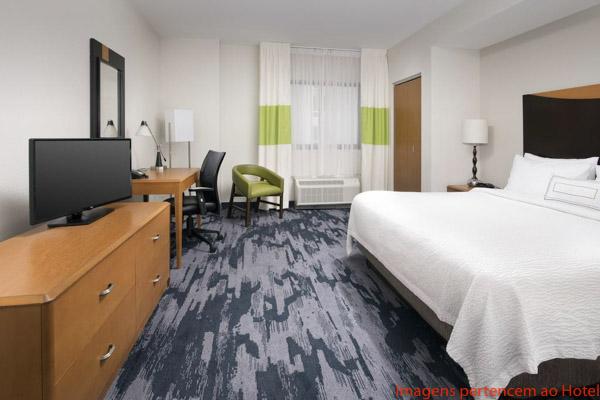 Quarto no Fairfield Inn & Suites em Onde Se Hospedar em Miami
