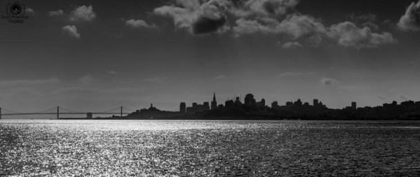 Viagem San Francisco em B&W