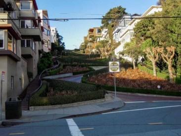 Lombard Street nas Melhores dicas de São Francisco EUA