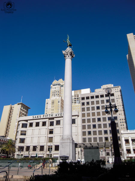 Union Square em O que fazer em São Francisco California