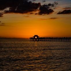 Sunset no Pier de Naples