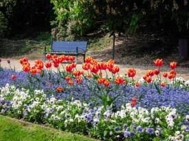 Jardins na Primavera em Praga