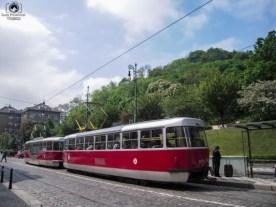 Metrô de superfície em Praga