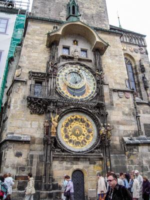 Relógio Astronômico em O que fazer em Praga República Tcheca