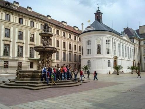 Interior do Castelo de Praga República Tcheca