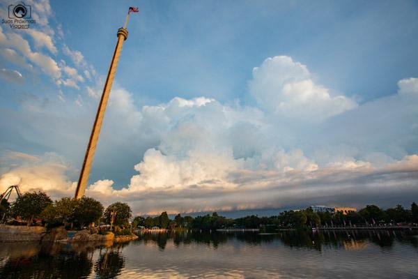 Seaworld ao Entardecer nos Parques em Orlando