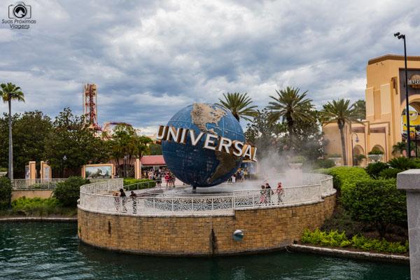 """Universal """"Globe"""" dos Parques em Orlando"""