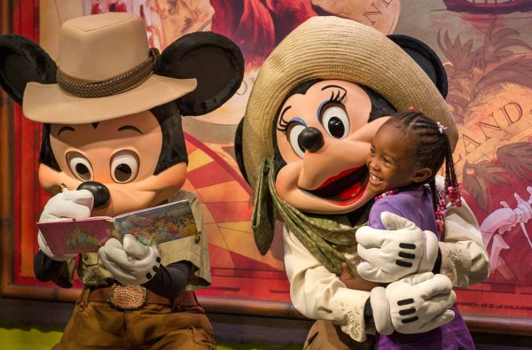 Mickey Mouse & Minnie nos Parques da Disney